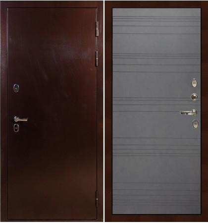 Входная дверь с терморазрывом Сибирь 3К / Графит софт (панель №70)