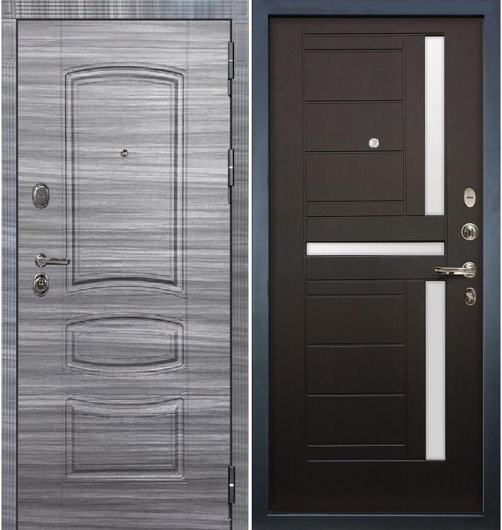 Входная дверь Легион Сандал серый / Венге (панель №35)