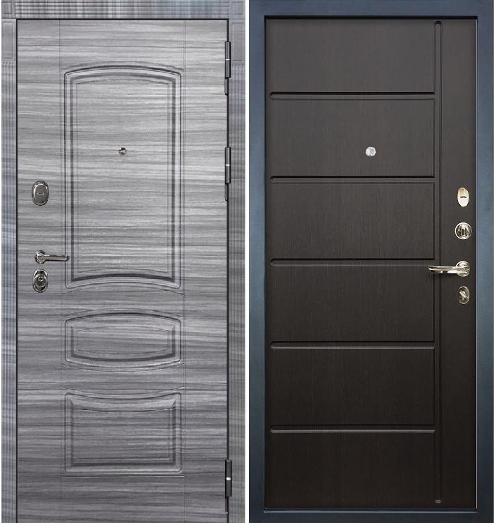 Входная дверь Легион Сандал серый / Венге (панель №41)