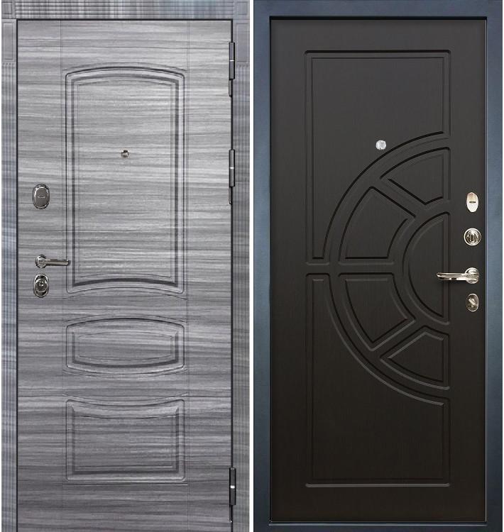 Входная дверь Легион Сандал серый / Венге (панель №43)