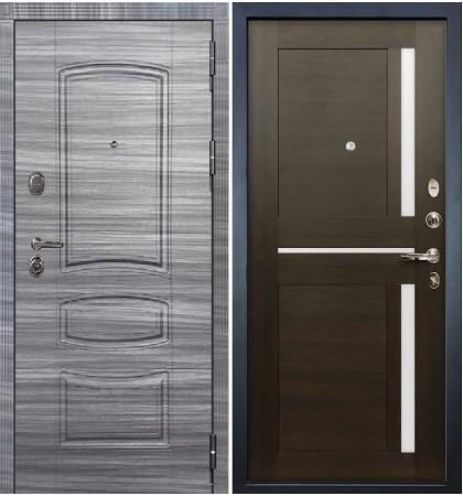 Входная дверь Легион Сандал серый / Баджио Венге (панель №50)