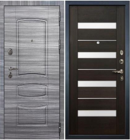 Входная дверь Легион Сандал серый / Сицилио Венге (панель №51)