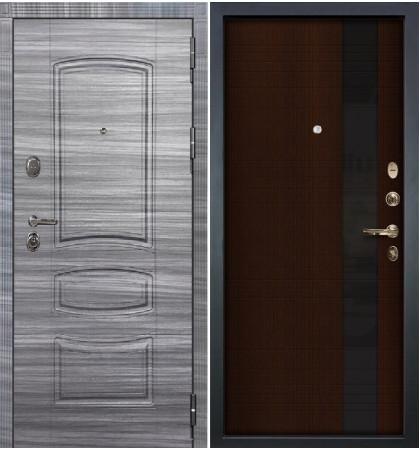 Входная дверь Легион Сандал серый / Новита Венге (панель №53)