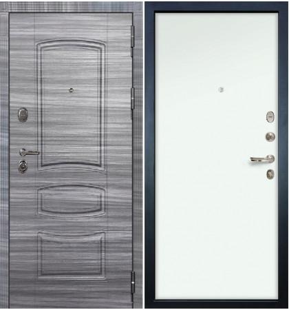 Входная дверь Легион Сандал серый / Белый винорит (панель №59)