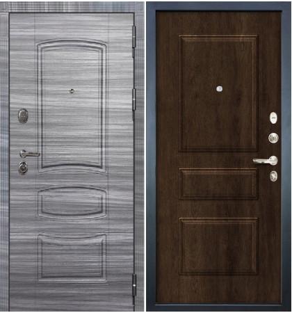 Входная дверь Легион Сандал серый / Алмон 28 (панель №60)