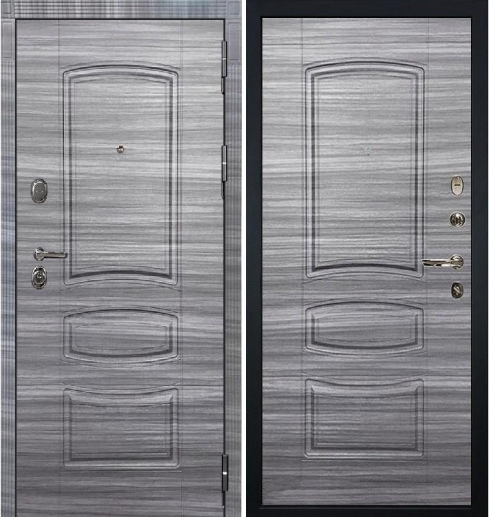 Входная дверь Легион Сандал серый / Сандал серый (панель №69)