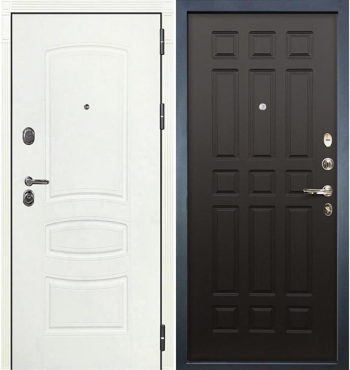 Входная дверь Легион Белая шагрень / Венге (панель №29)