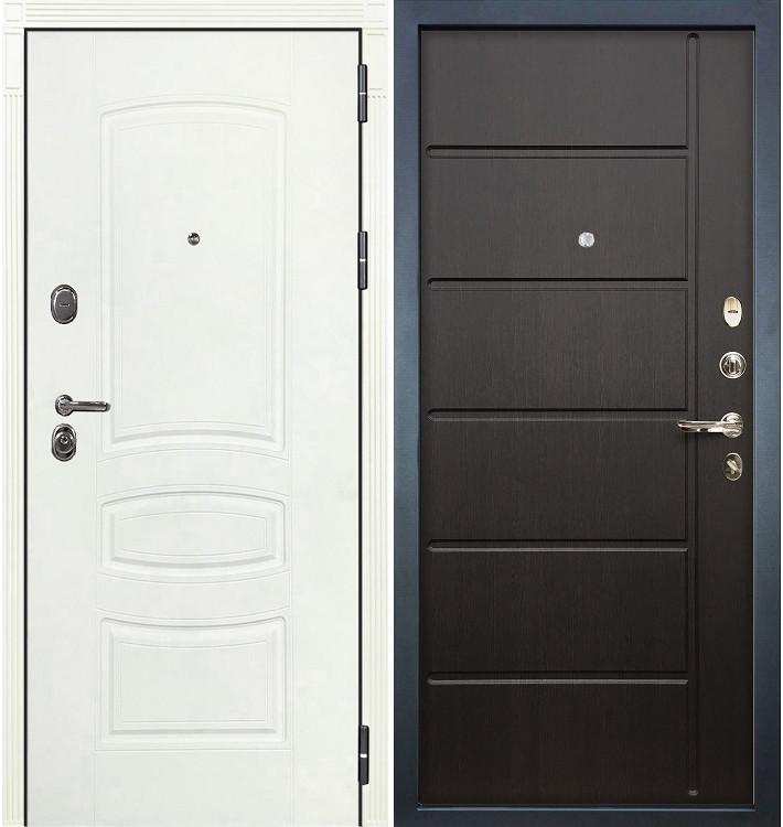 Входная дверь Легион Белая шагрень / Венге (панель №41)