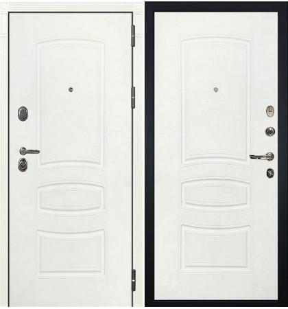 Входная дверь Легион Белая шагрень / Белая шагрень (панель №68)