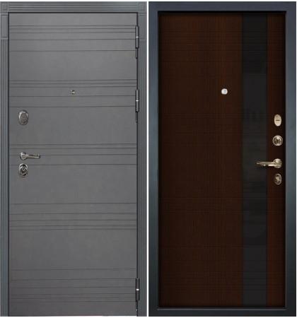 Входная дверь Легион Графит софт / Новита Венге (панель №53)