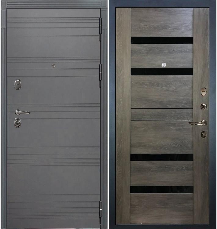 Входная дверь Легион Графит софт / Неро Графит шале (панель №65)