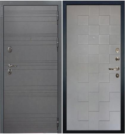 Входная дверь Легион Графит софт / Квадро Графит софт (панель №72)