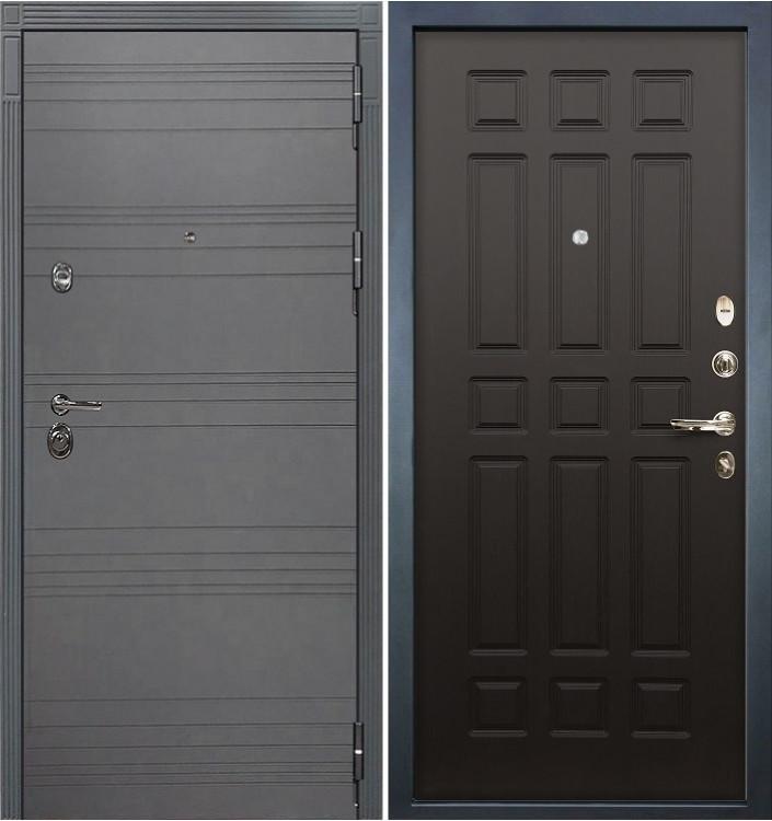 Входная дверь Лекс Сенатор 3К Графит софт / Венге (панель №29)
