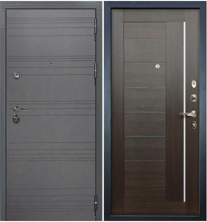 Входная дверь Сенатор 3К Графит софт / Верджиния Венге (панель №39)