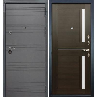 Входная дверь Лекс Сенатор 3К Графит софт / Баджио Венге (панель №50)