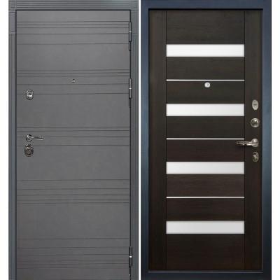 Входная дверь Лекс Сенатор 3К Графит софт / Сицилио Венге (панель №51)