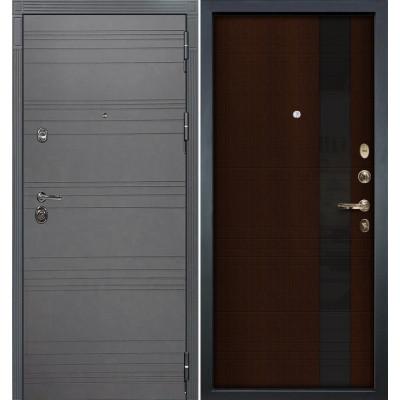 Входная дверь Лекс Сенатор 3К Графит софт / Новита Венге (панель №53)