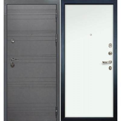 Входная дверь Лекс Сенатор 3К Графит софт / Белый винорит (панель №59)