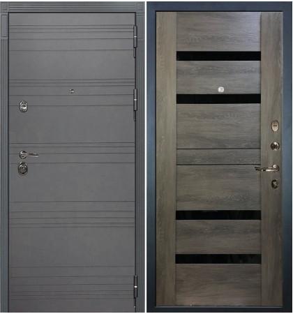 Входная дверь Сенатор 3К Графит софт / Неро Графит шале (панель №65)