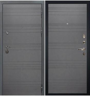 Входная дверь Лекс Сенатор 3К Графит софт / Графит софт (панель №70)