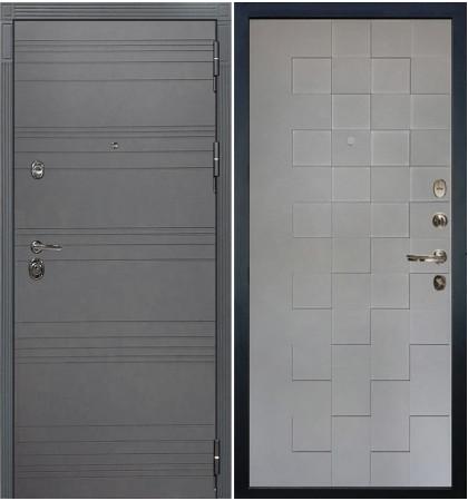 Входная дверь Сенатор 3К Графит софт / Графит софт Квадро (панель №72)
