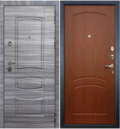 Входная Дверь Сенатор 3К Сандал серый / Береза мореная (панель №11)