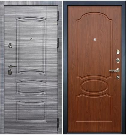 Входная Дверь Сенатор 3К Сандал серый / Береза мореная (панель №12)