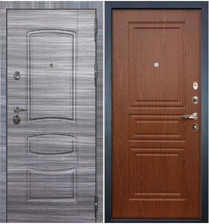 Входная Дверь Сенатор 3К Сандал серый / Береза мореная (панель №19)