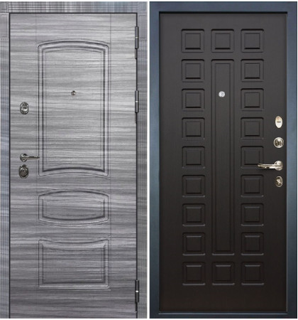 Входная Дверь Сенатор 3К Сандал серый / Венге (панель №21)