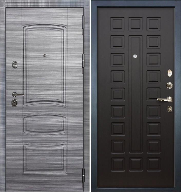 Входная дверь Лекс Сенатор 3К Сандал серый / Венге (панель №21)