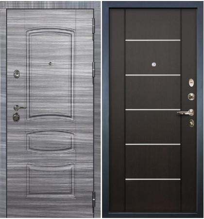 Входная Дверь Сенатор 3К Сандал серый / Венге (панель №24)