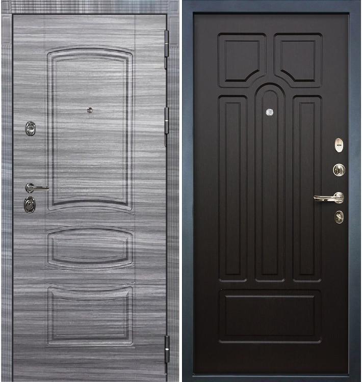 Входная Дверь Сенатор 3К Сандал серый / Венге (панель №32)