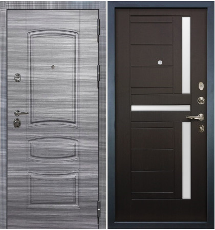 Входная Дверь Сенатор 3К Сандал серый / Венге (панель №35)