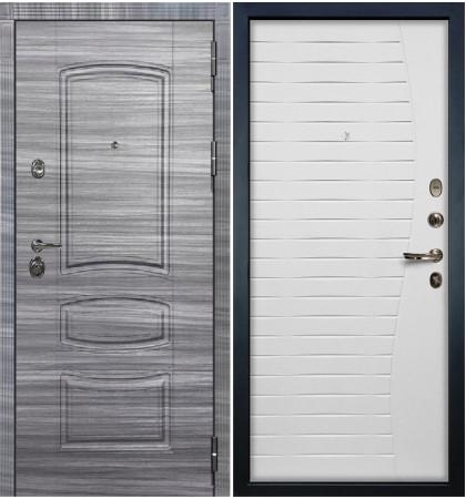 Входная Дверь Сенатор 3К Сандал серый / Белый ясень (панель №36)