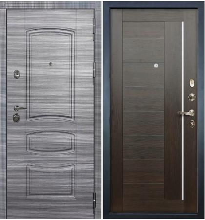 Входная Дверь Сенатор 3К Сандал серый / Верджиния Венге (панель №39)