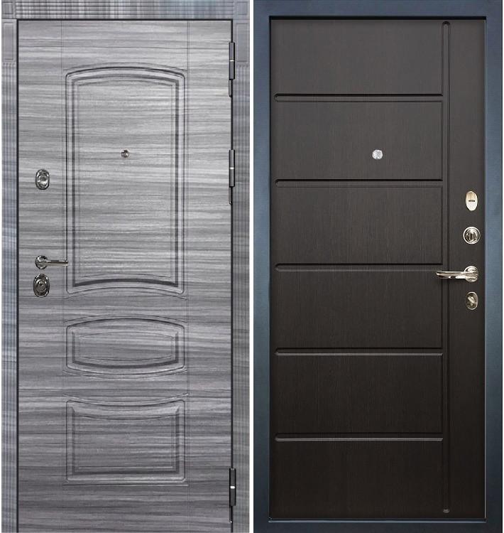 Входная Дверь Сенатор 3К Сандал серый / Венге (панель №41)