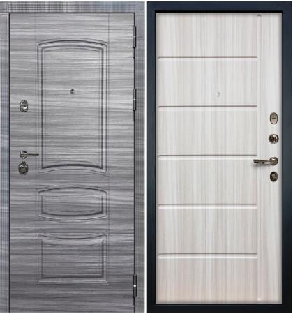Входная Дверь Сенатор 3К Сандал серый / Сандал белый (панель №42)