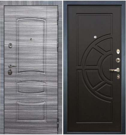 Входная Дверь Сенатор 3К Сандал серый / Венге (панель №43)
