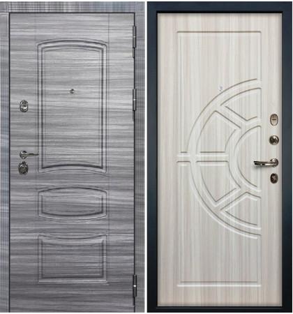 Входная Дверь Сенатор 3К Сандал серый / Сандал белый (панель №44)