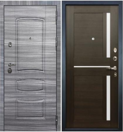 Входная Дверь Сенатор 3К Сандал серый / Баджио Венге (панель №50)