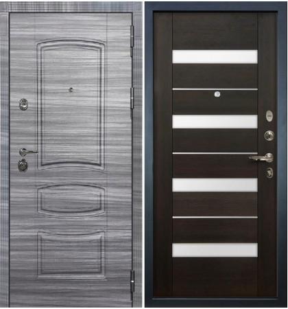 Входная Дверь Сенатор 3К Сандал серый / Сицилио Венге (панель №51)