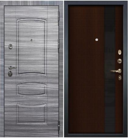 Входная Дверь Сенатор 3К Сандал серый / Новита Венге (панель №53)
