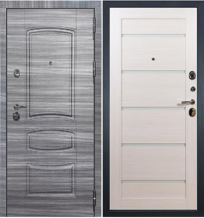 Входная Дверь Сенатор 3К Сандал серый / Клеопатра Беленый дуб (панель №58)