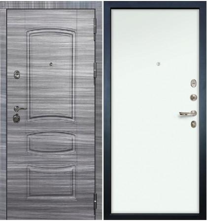 Входная Дверь Сенатор 3К Сандал серый / Белый винорит (панель №59)