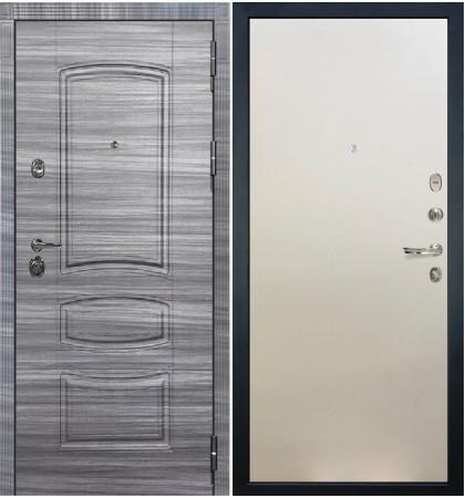 Входная Дверь Сенатор 3К Сандал серый / Белый ясень (панель №62)