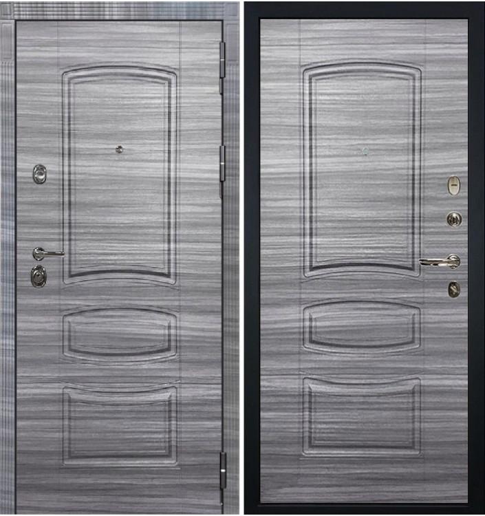 Входная дверь Лекс Сенатор 3К Сандал серый / Сандал серый (панель №69)