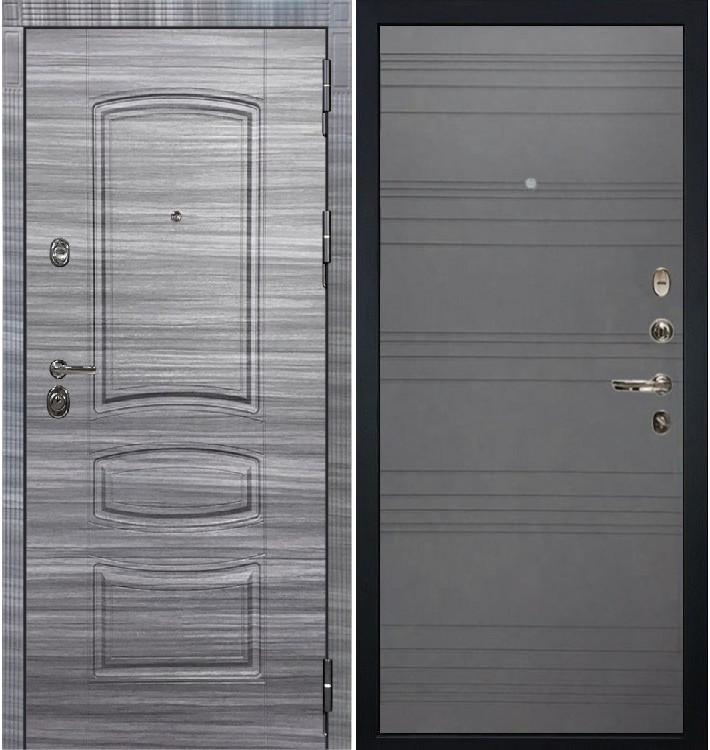 Входная Дверь Сенатор 3К Сандал серый / Графит софт (панель №70)