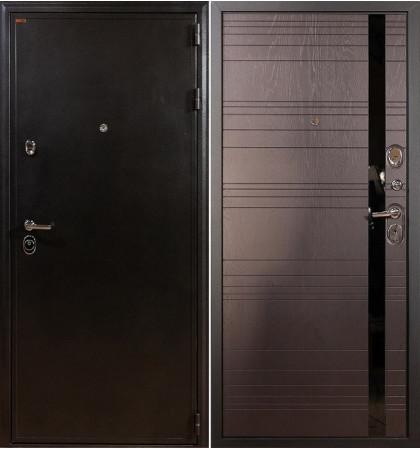 Входная дверь Колизей / Ясень шоколадный (панель №31)