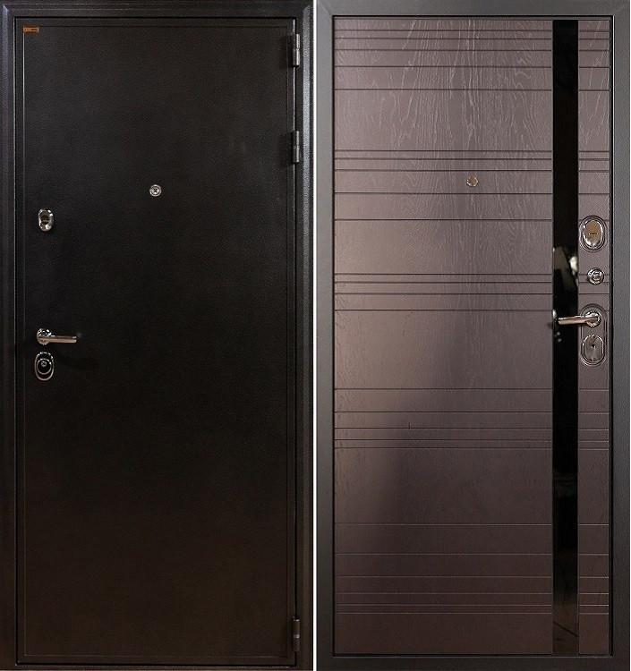 Входная дверь Лекс Колизей / Ясень шоколадный (панель №31)