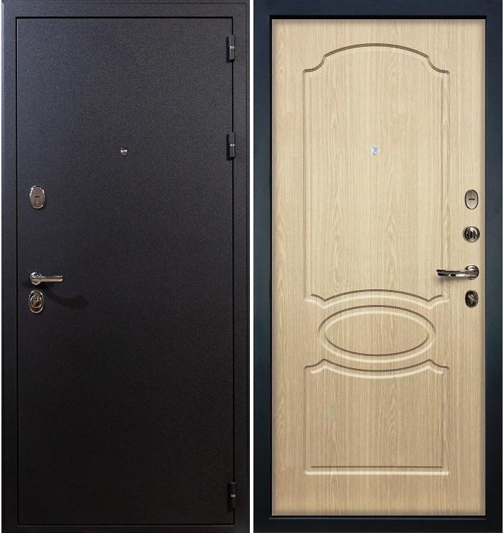 Входная дверь Рим / Беленый дуб (панель №14)
